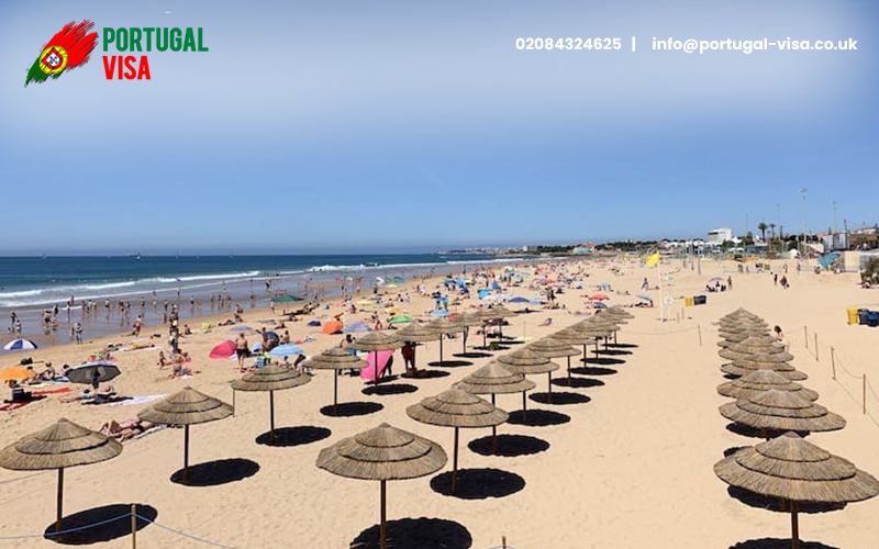 Carcavelos Beaches in Portugal