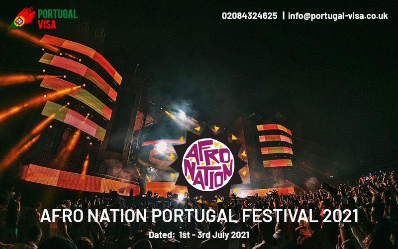 Afro Nation Portugal festival 2021